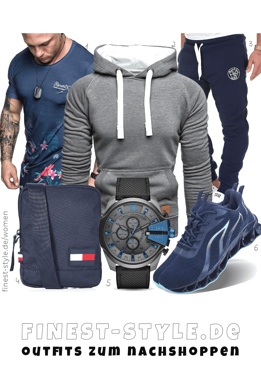 Cooles Herren Outfit - Bekleidung, Schuhe, Uhren und