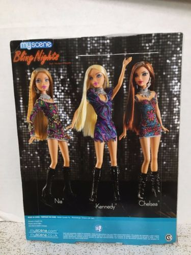 Barbie My Scene Chelsea Doll Bling Nights Rare Chelsea  Chelsea