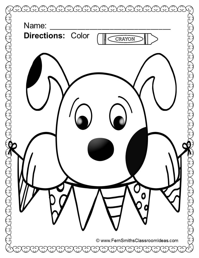 50 Off For The First Two Day Adopt A Shelter Dog Color For Fun Printable Coloring Pages 33 Co Coloring Pages Fern Smith S Classroom Ideas Shelter Dogs [ 1056 x 816 Pixel ]