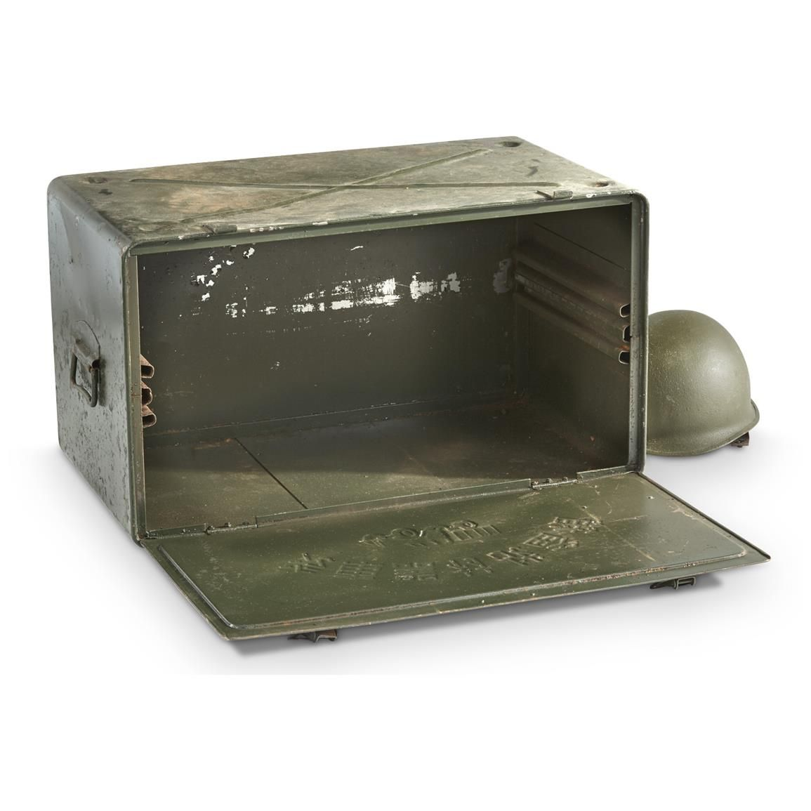 Chinese Military Surplus Metal Truck Storage Box 3688027c74c