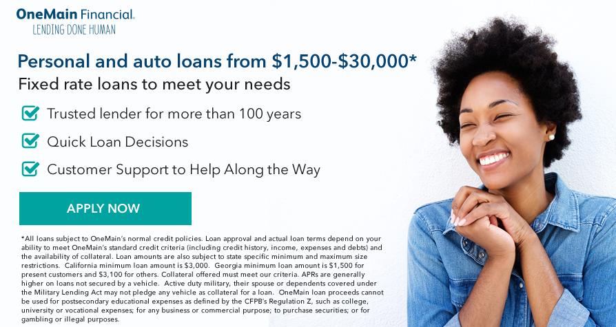 Onemain Quick Loans Financial Website Loan Modification