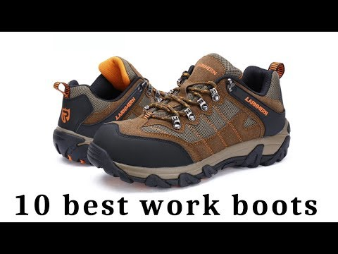 1 Top 10 Men S Work Boots Safety Shoes Giveaway Aliexpress Amazon Youtube Good Work Boots Safety Shoes Work Boots Men