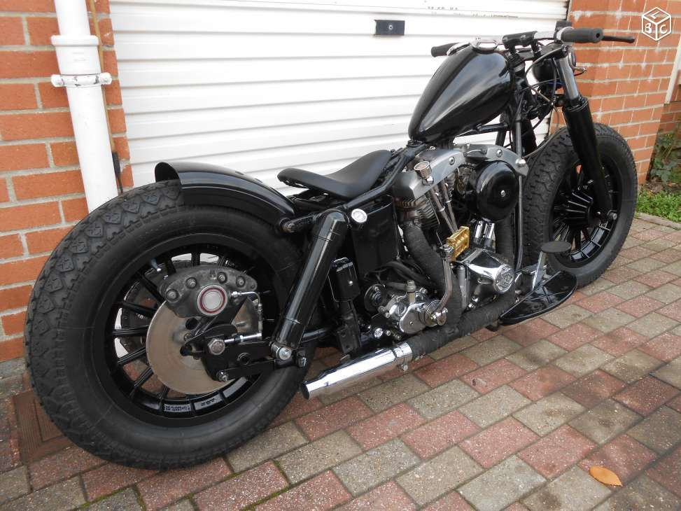 harley davidson flh 1200 shovel shovelhead bobber motos nord anky 39 s favourite. Black Bedroom Furniture Sets. Home Design Ideas