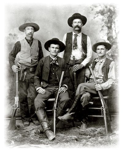 Old West Outlaws, Texas Rangers Law