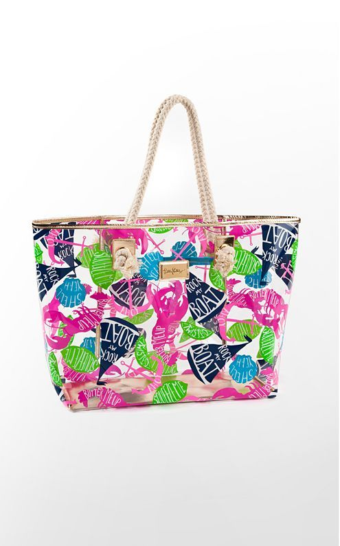 Beautiful Bags Sline Tote With Rope Handles The Perfect Fit For All Your Pool And Beach Accessories