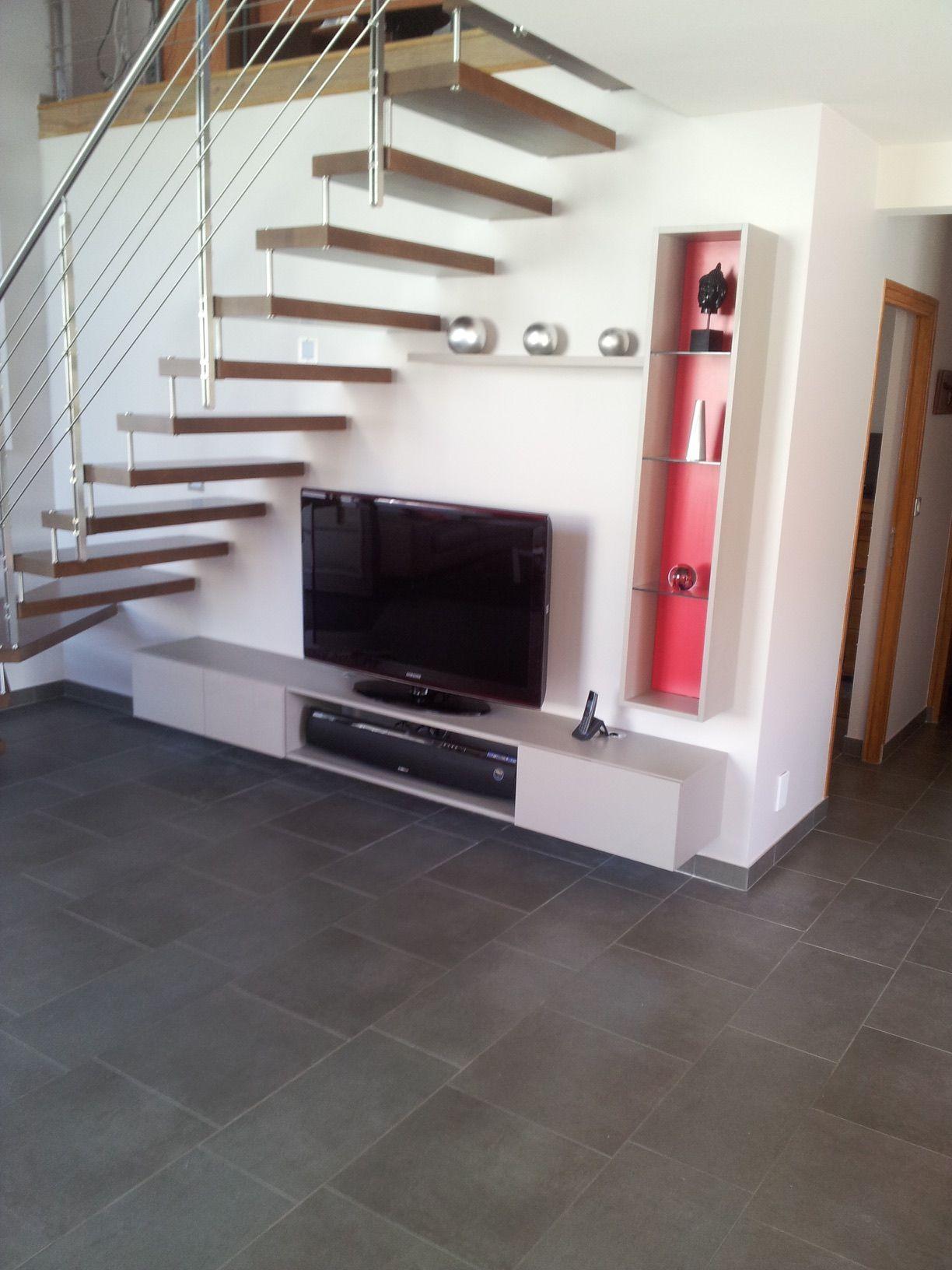 Image du tableau margot de pat menez meuble sous Meuble sur mesure sous escalier