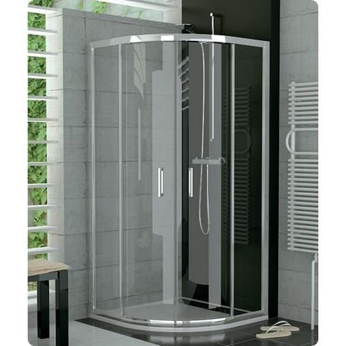 Sanswiss top line porte coulissante quart de rond pour cabine de douche isi sanitaire id es - Paroi de douche quart de rond ...