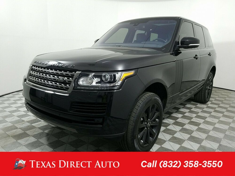 For Sale 2016 Land Rover Range Rover Texas Direct Auto