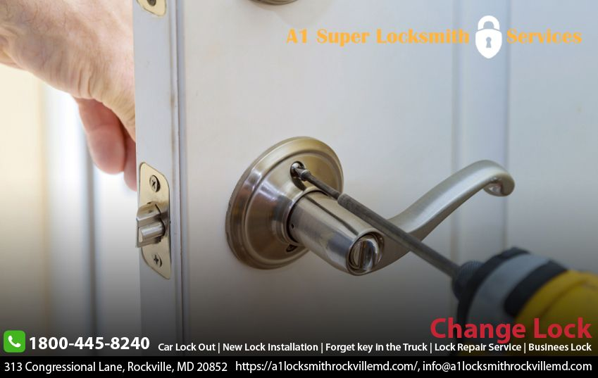 Our A1 Locksmith Rockville Provides The Best Business Lock