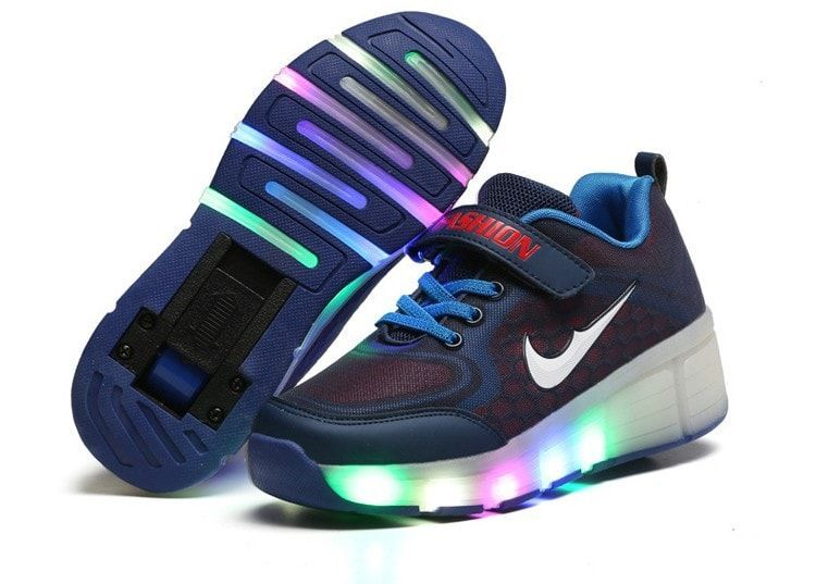 Zapatos De Ruedas Led Glowing Sneakers LED Shoes Casual