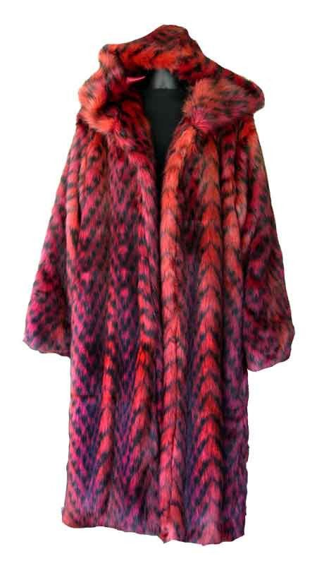 740c77a95647 Leopard Red Pimp Coat | Pimp Costume! | Coat, Red leopard, Fur coat