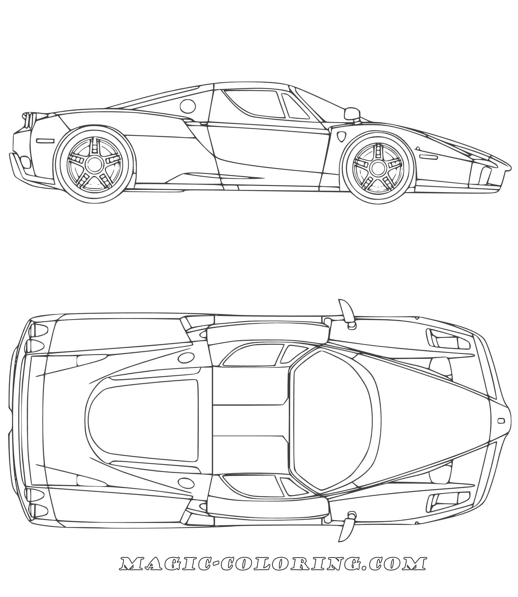 Ferrari Car Coloring Page Cars Coloring Pages Sports Coloring Pages Coloring Pages