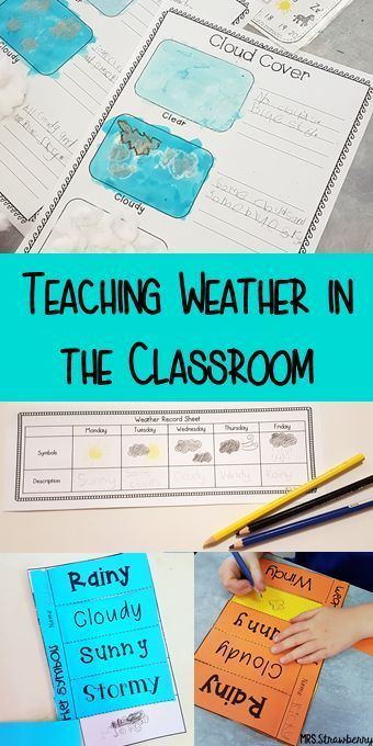 Teaching Weather in the Classroom – Mrs. Strawberry