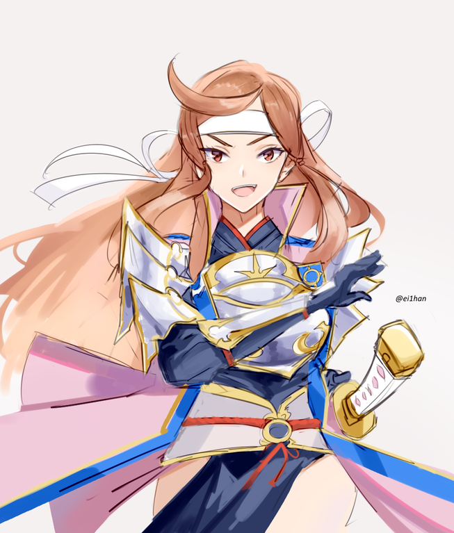 Swordmaster Hana Fireemblemheroes Fire Emblem Fire Emblem Heroes Fire Emblem Fates