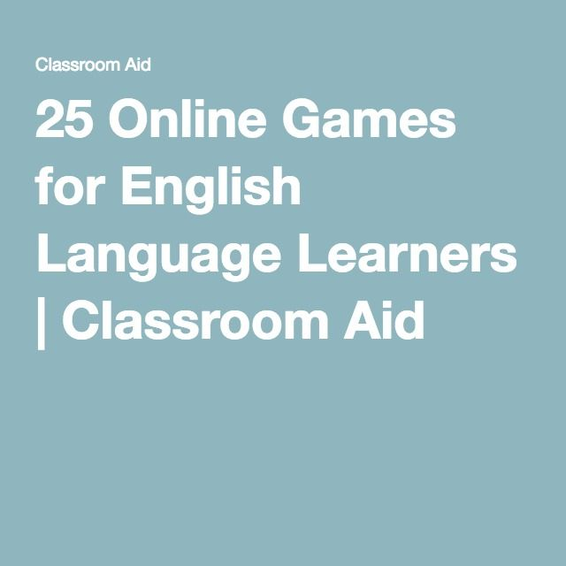 ESL for Adults Teaching English Games