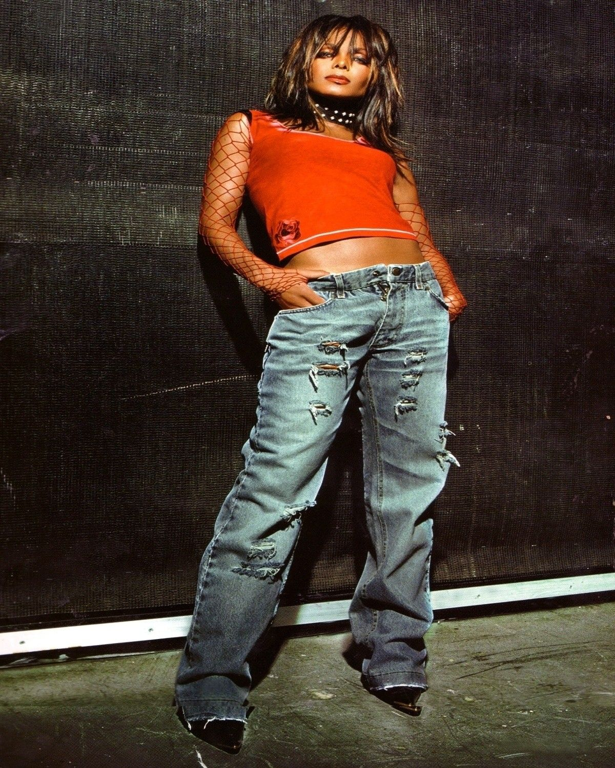Janet Jackson's All For You Tour Book | Janet Jackson in