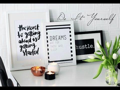 Diy Kamer Decoratie : Diy kamer decoratie fotolijstjes met inspirerende quotes