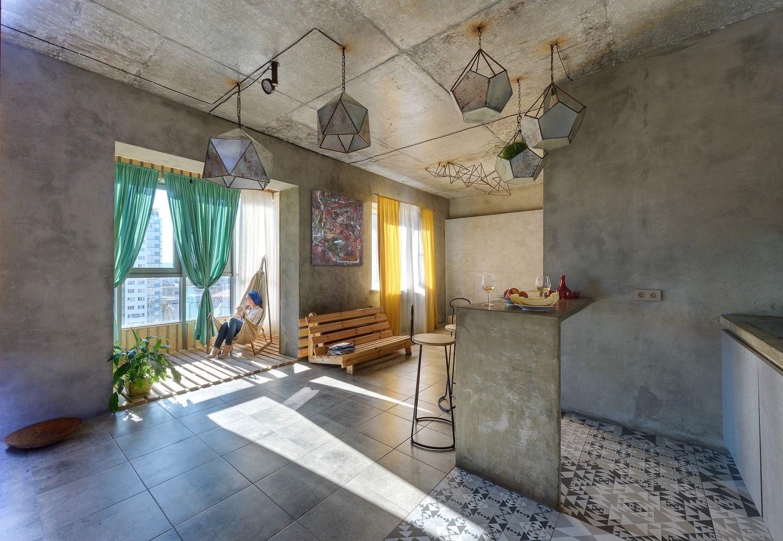 Gallery Of House Of The Sun Keivani Architects Studio Persian Primavera 4 Industrial Restaurant Design Condo Design Concrete Walls Interior
