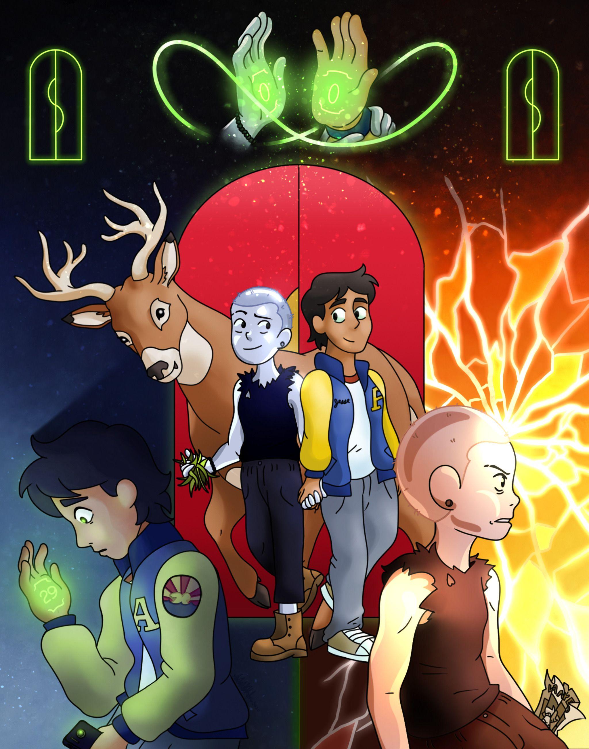 Pin De Drielle Eloi En Infinity Train El Tren Infinito Fondo De Pantalla De Anime Magia Anime