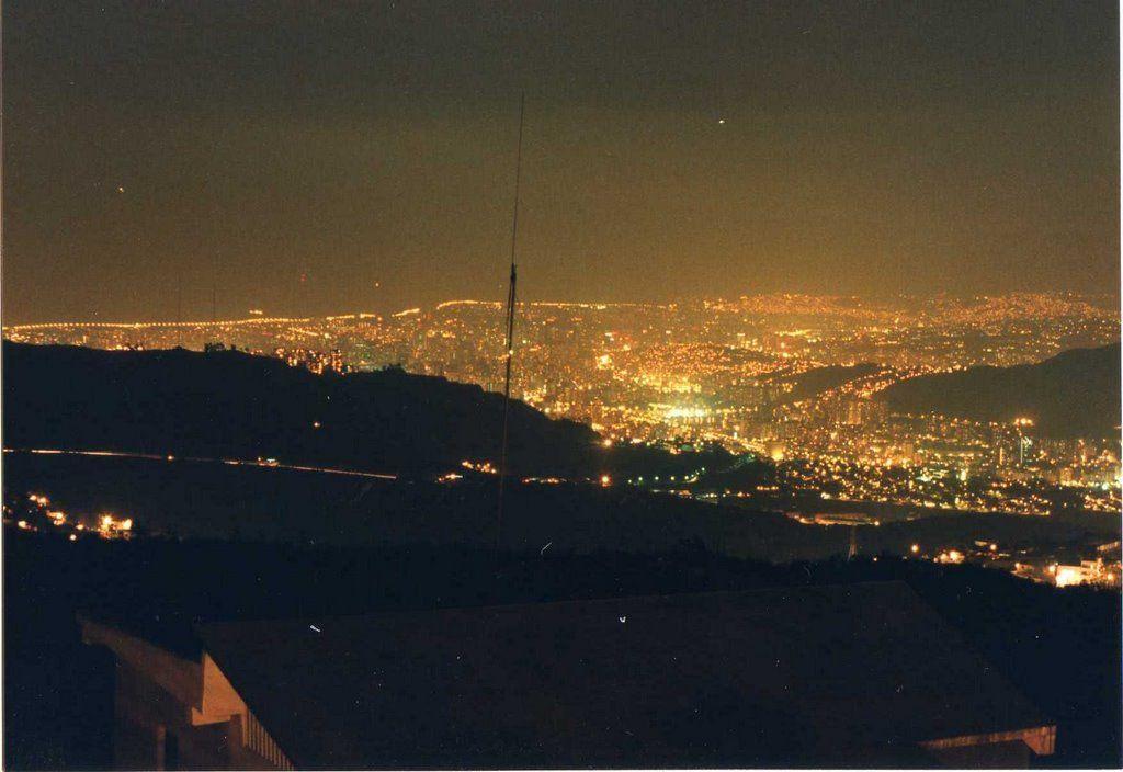 CARACAS, Municipio Libertador, Parroquia El Junquito, Caracas vista desde el Km. 8 de El Junquito.