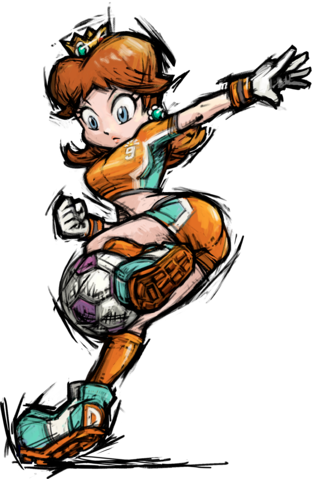 Daisy - Mario strikers Charged