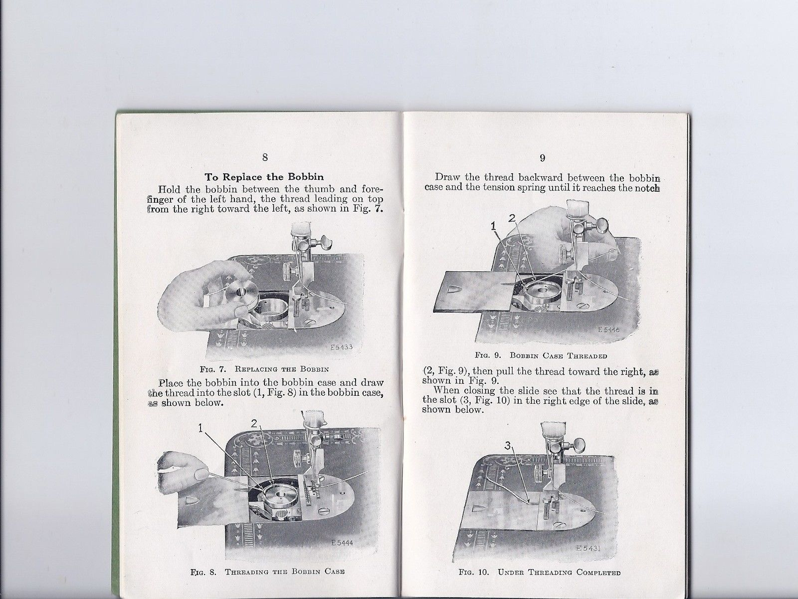 Antique 1924 Singer Model 66 Redeye Treadle Sewing Machine Wiring Diagram Instruction Manual Ebay