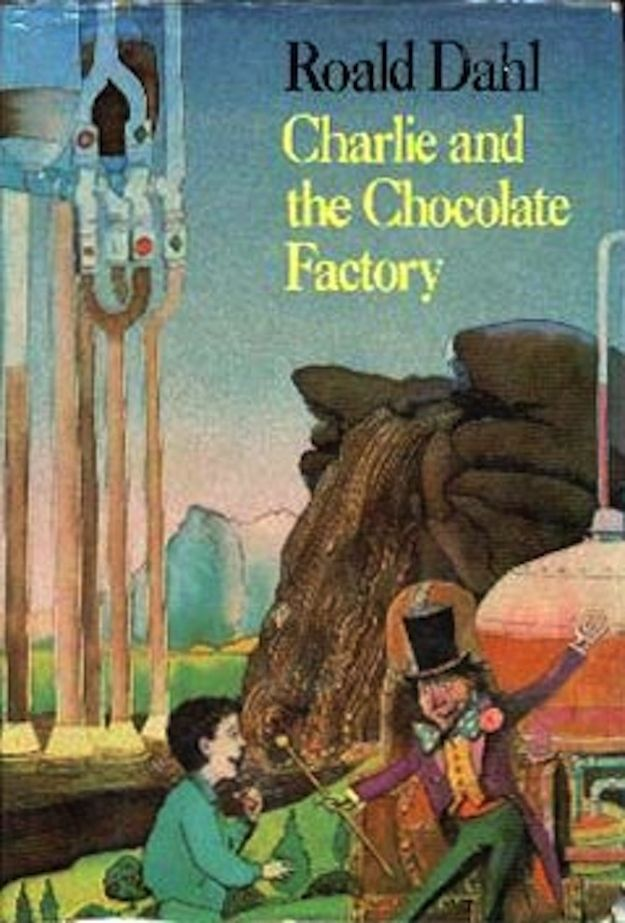 1985 Chocolate Factory Factory Illustration Book Cover