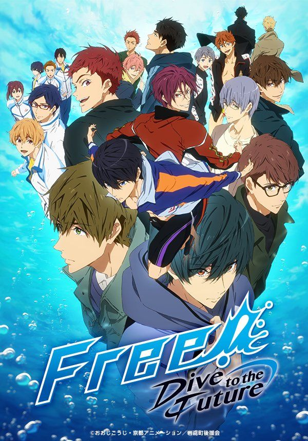 Pin by K♥ on Free in 2020 Free anime, Free iwatobi, Anime