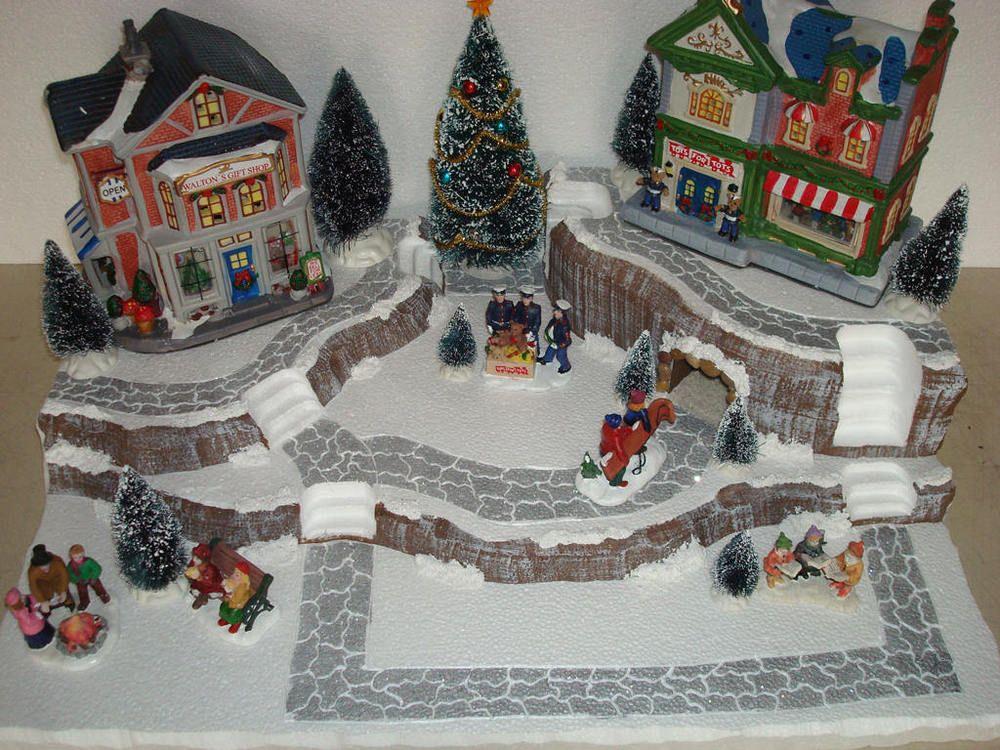 Christmas Village Display Platform Base J21 - Dept56 Lemax Dickens ...