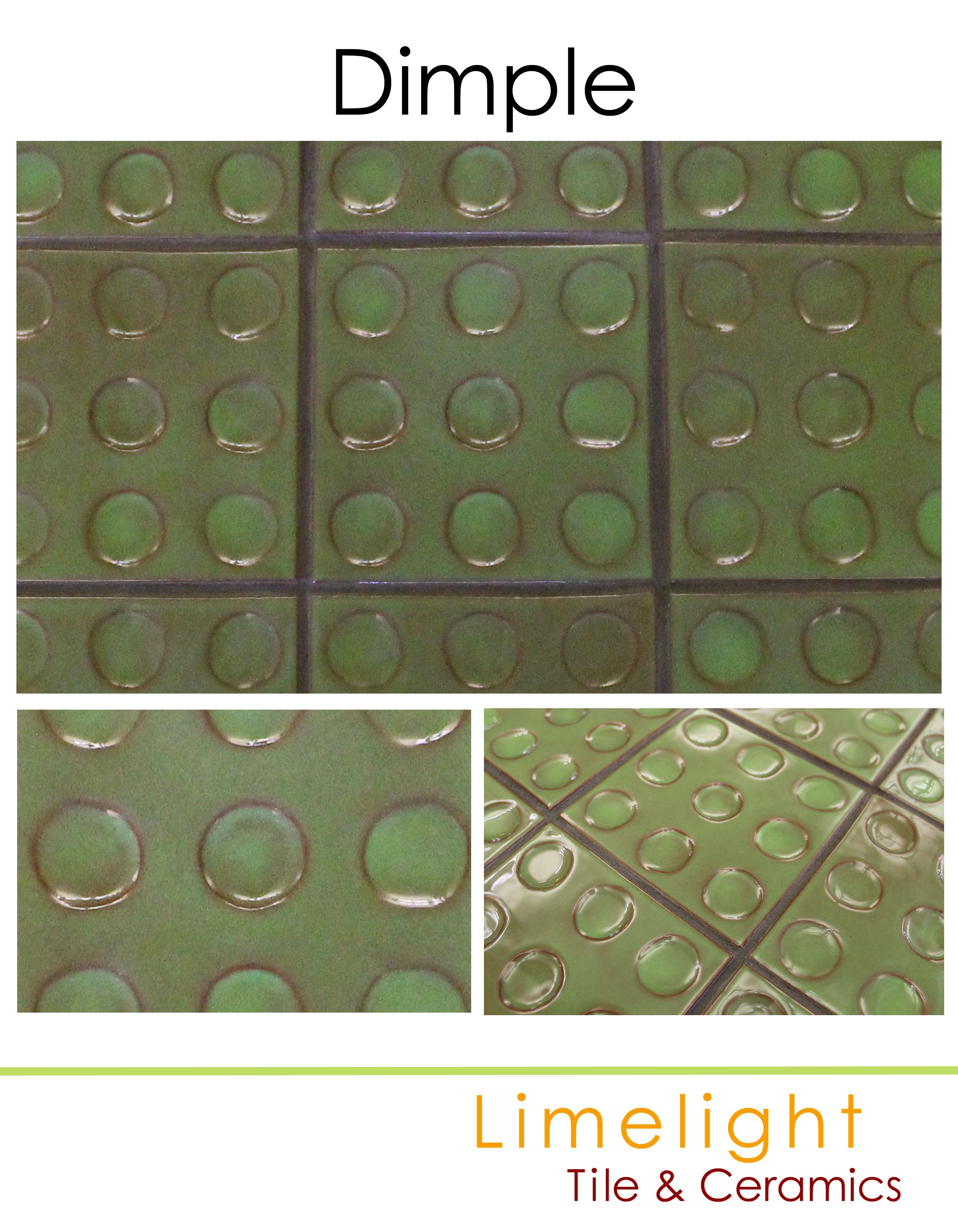 dimple limelight tile ceramics