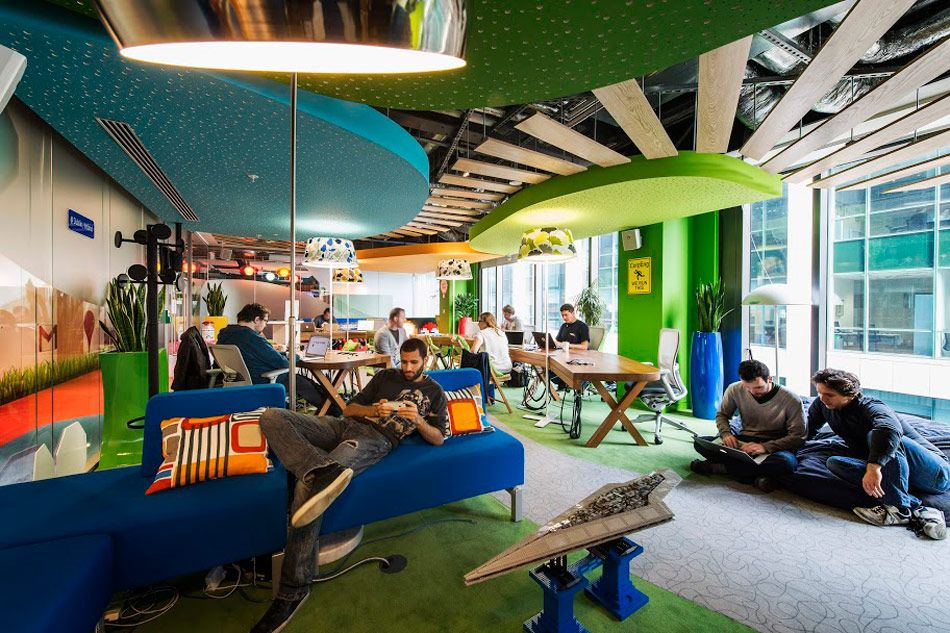 Camenzind evolution s google office flourishes in dublin arq