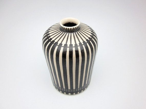 Mid Century Modern Vase Designed By Hedwig By Eclectivist On Etsy