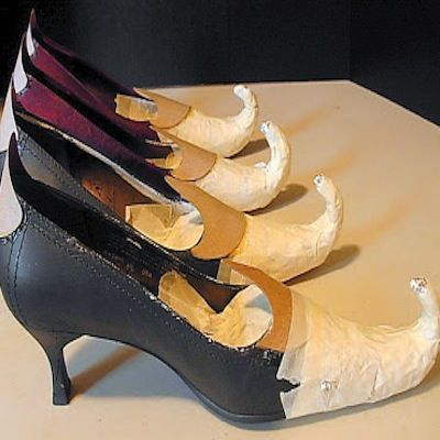 Classic Witch Shoe Covers Costume Accessory
