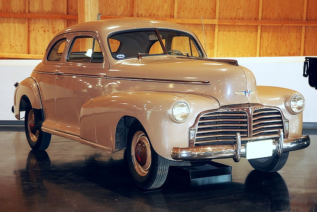 Rare 1942 Chevrolet Blackout Chevrolet Offered Three Models In