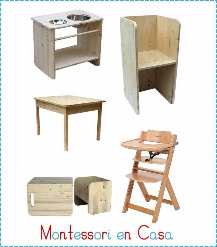 Mobiliario Montessori (702x800) | Espacios y más infantiles ...