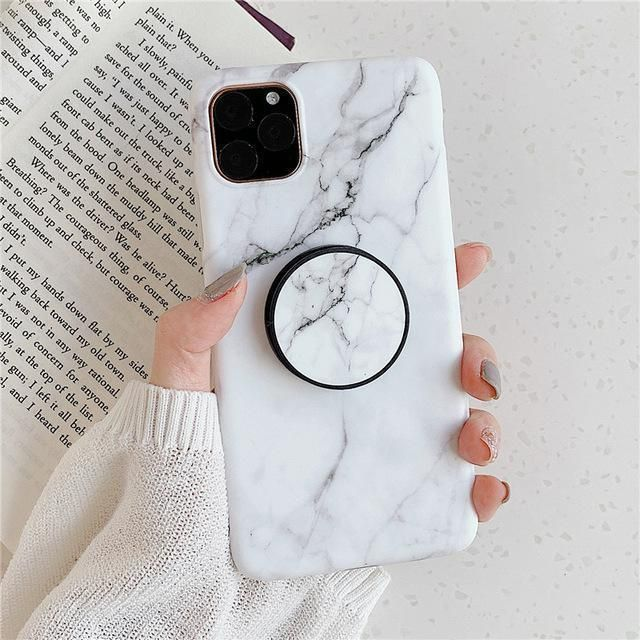 Classic Marble Iphone Case Holder Marble Iphone Case White White Marble Iphone Marble Iphone Case