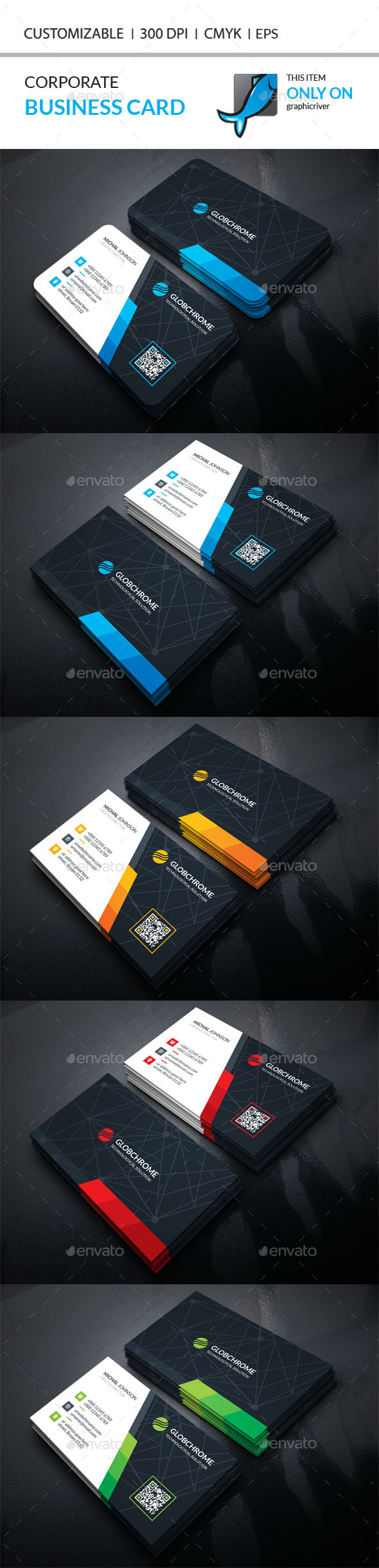 Business Card Template Vector EPS, AI Illustrator. Download here ...