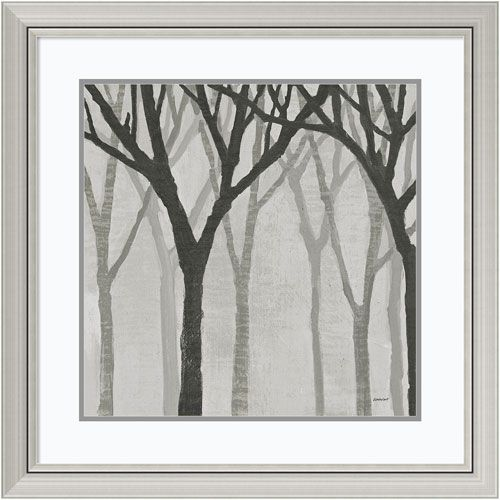 Spring Trees Greystone I by Kathrine Lovell, 30 x 30 In. Framed Art ...