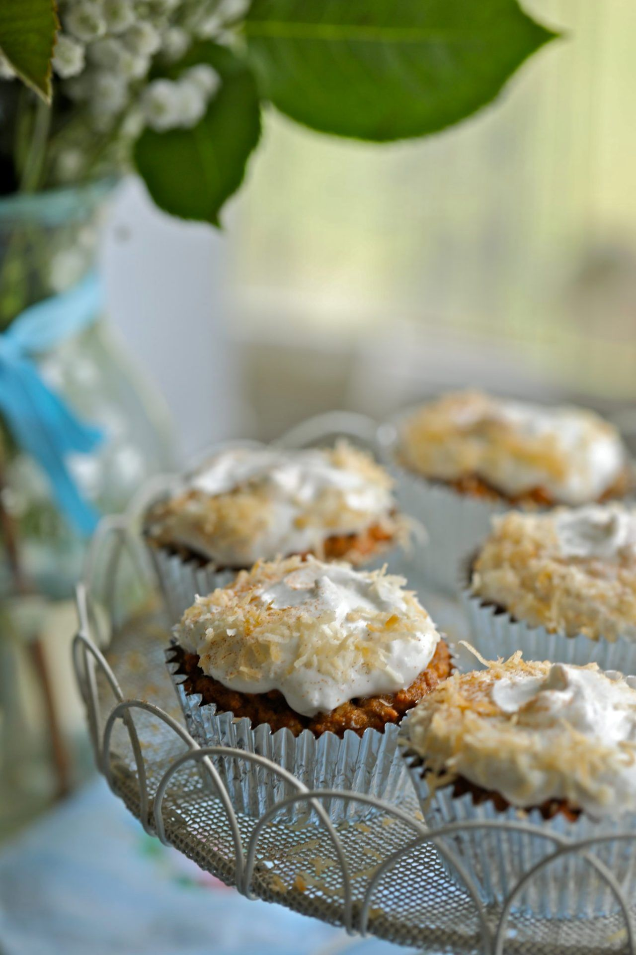 Gluten Free Carrot Cake Cupcakes in 2020 Cupcake recipes
