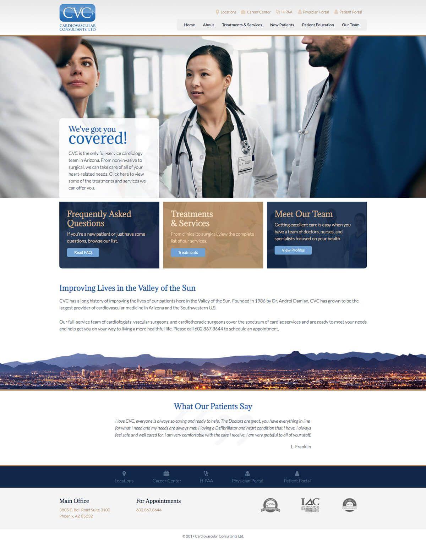 Web Design Portfolio Portfolio Web Design Medical Website Design Website Design