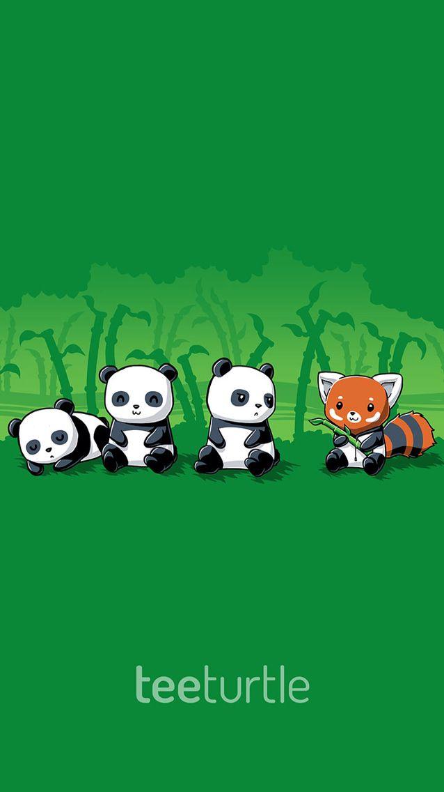 Teeturtle Panda Iphone Wallpaper Panda Hug Cute Animal Drawings Cute Drawings