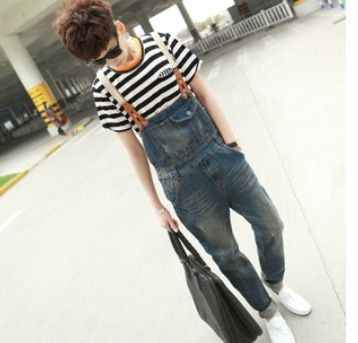 Skinny overall w/suspenders  .. Need these!