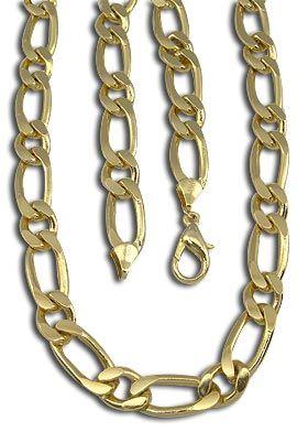 1ac1a611413 Corrente masculina grossa folheada a ouro Código  CR0047 60