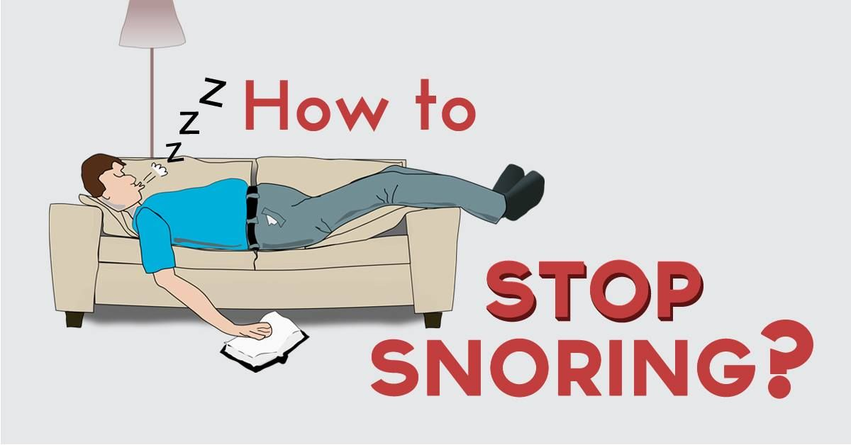 How to stop snoring in 2020 cure for sleep apnea how