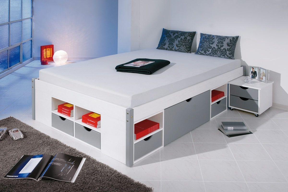 lit 140x190 avec rangement lit
