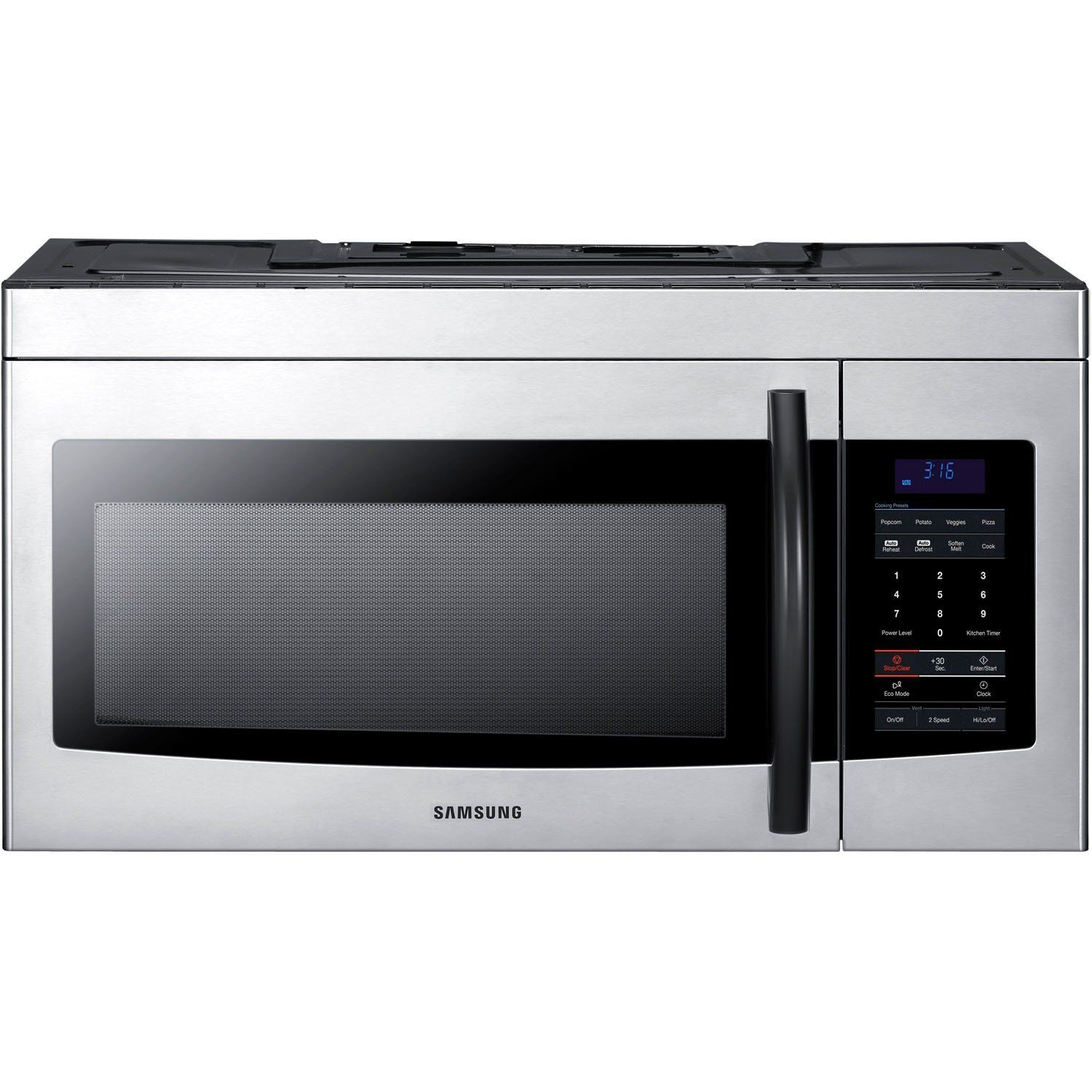 Samsung smh1622s 16 cu ft stainless steel overthe
