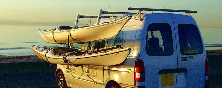 Kari Tek Easy Load Roof Rack For Sea Kayaks On Cars Vans