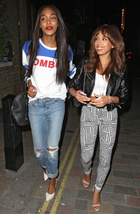 Jourdan dunn and jade ewen vogue photo by rex features jourdan dunn and jade ewen vogue photo by rex features malvernweather