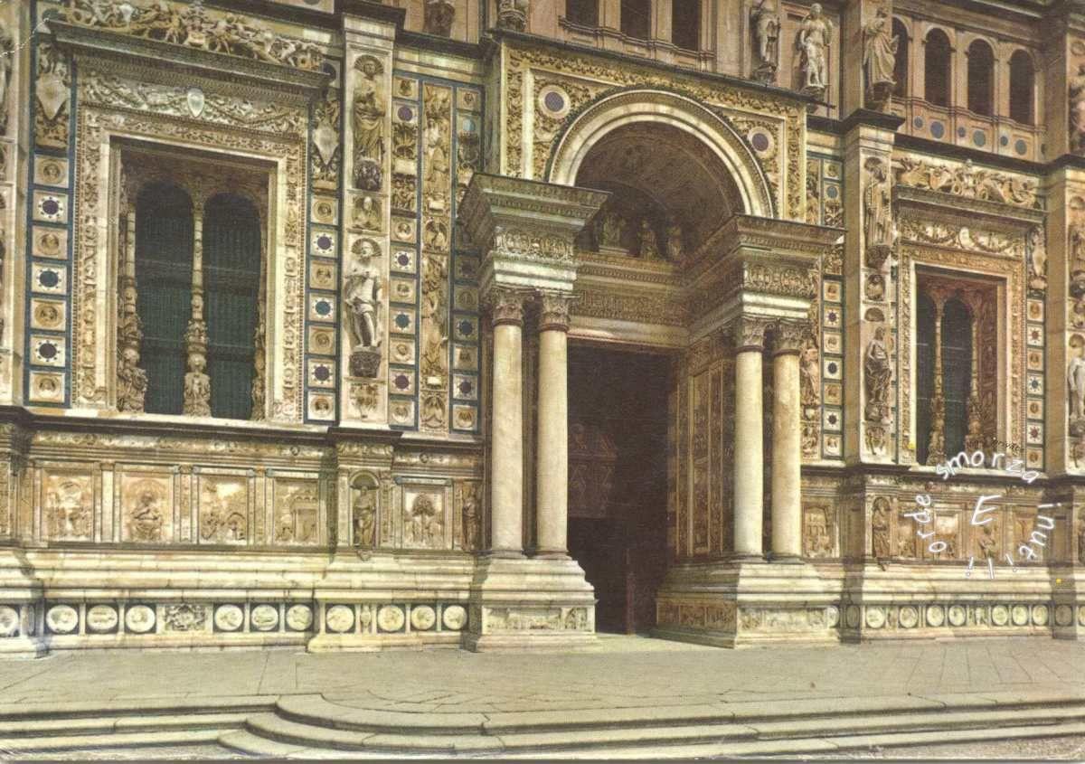1972 – CERTOSA DI PAVIA - La Certosa di Pavia Gra-Car (Gratiarum Carthusia - Monastero di Santa Maria delle Grazie[1]) è un complesso monumentale storico che comprende un monastero e un santuario. Si trova nel comune omonim...