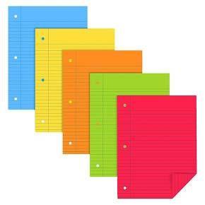 "Neenah Filler Paper, Wide Ruled, 100pgs, 8.5"" x 11"" : Target"